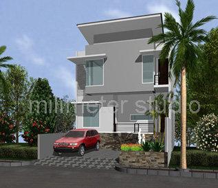 mau bikin rumah sederhana dengan design bagus dan murah